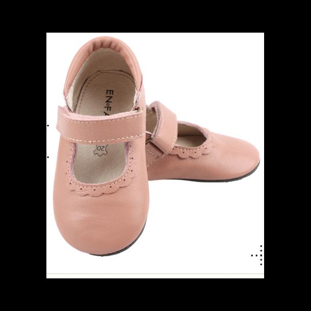 ENFANT - Sutsko i farven blush med velcro