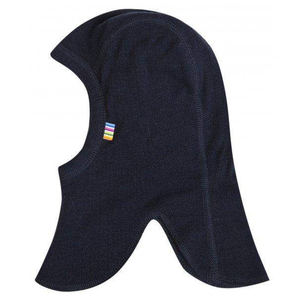 JOHA - Elefanthue i dobbeltlags uld i blå