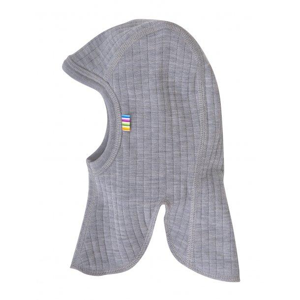 JOHA - Elefanthue i dobbeltlags uld i grå