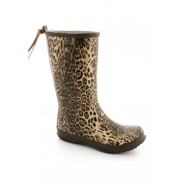 BISGAARD - Gummistøvle i leopard