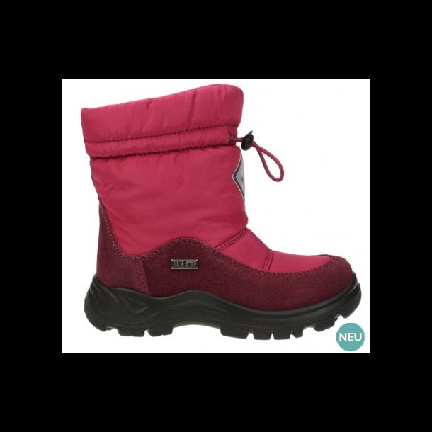 5830fc57c7fe NATURINO - Stik-i støvle i hindbær med TEX og uldfoer - Støvler ...