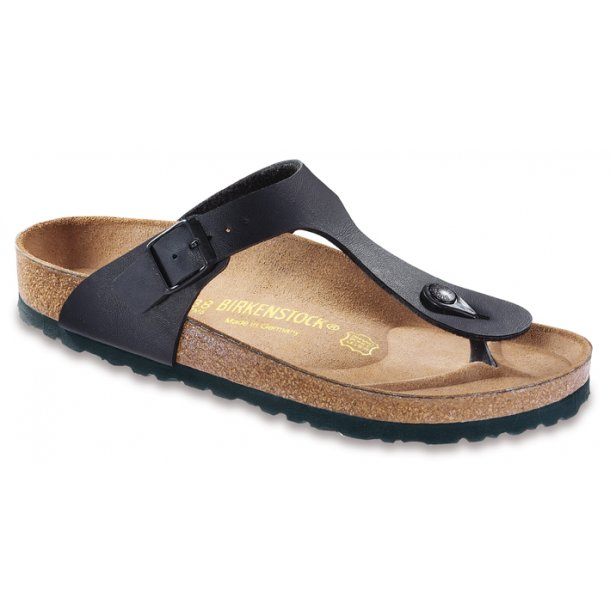 BIRKENSTOCK - Gizeh i sort (Smal model)
