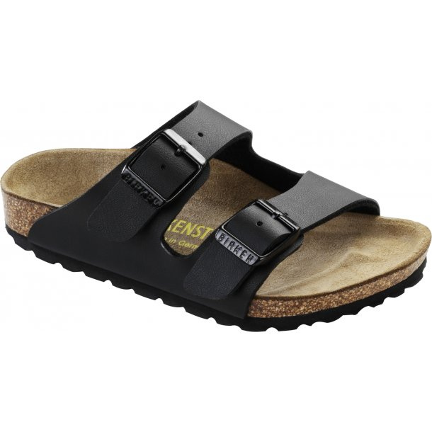 BIRKENSTOCK - Arizona i sort (Smal model)