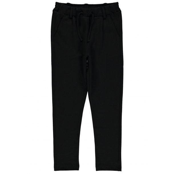 19fd4d14 NAME IT - Bukser med elastik i Sort. Nitida. Basic - Bukser - Karl ...