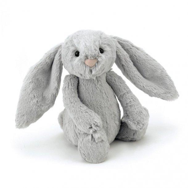 JELLYCAT - Bashful kanin i Silver. 31cm