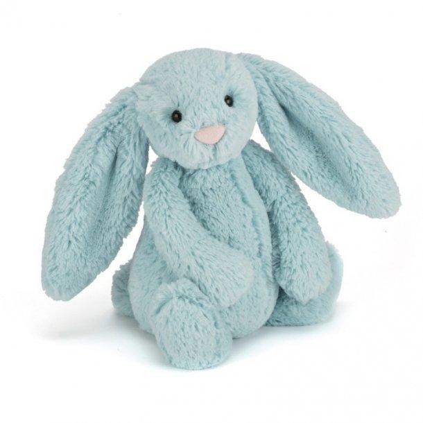JELLYCAT - Bashful kanin i Aqua. 31cm