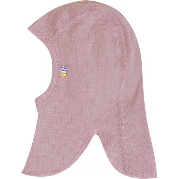 JOHA - Elefanthue i dobbeltlags uld i rosa (ny rosa)