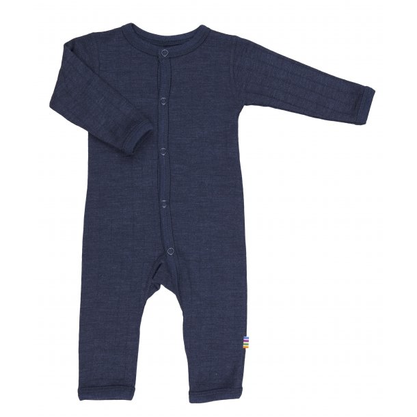 JOHA - Uld-silke heldragt i blå