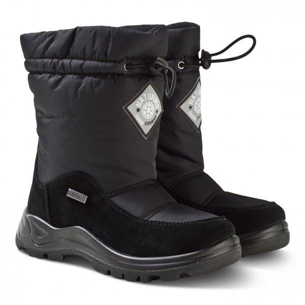a7e07d55c771 NATURINO - Stik i støvle i sort med uldfoer og TEX - Støvler - Karl ...