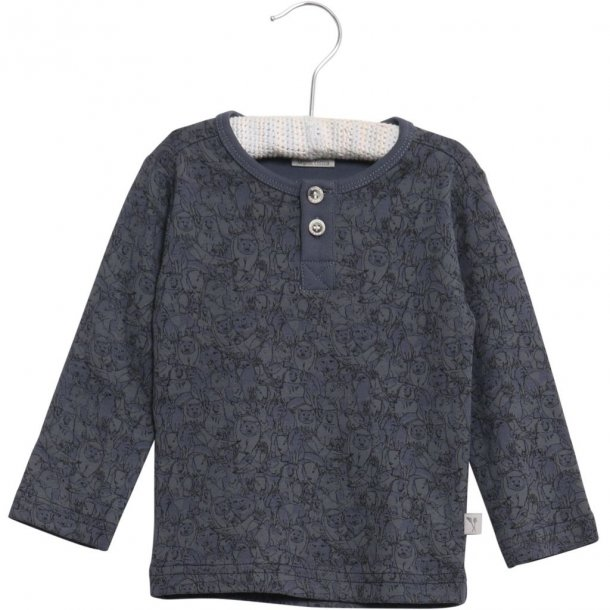 WHEAT - Baby bluse i Greyblue. Sebastian..