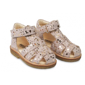5f14c5454c6 NATURINO - Sandal i leopard og guld. - Sandaler - Karl & Kalinka