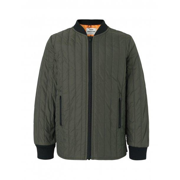 04ba42a1b7b MADS NØRGAARD - Quiltet jakke i armygrøn. Basic - Jakker - Karl ...