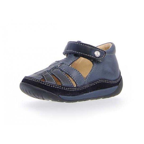 9a9f2711049 NATURINO - Begynder sandal i navy skind. Basic - Sandaler - Karl ...