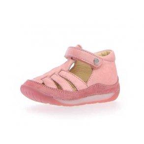 c004c69a7e0 NATURINO - Begynder sandal i rosa skind