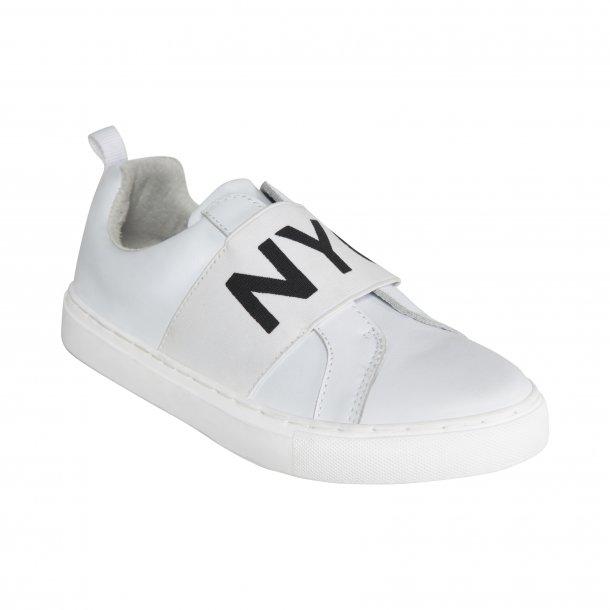 SOFIE SCHNOOR - Sneakers i hvidt skind. NYC