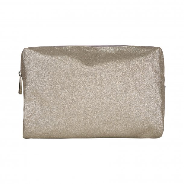 SOFIE SCHNOOR - Small bag/toilettaske i white gold