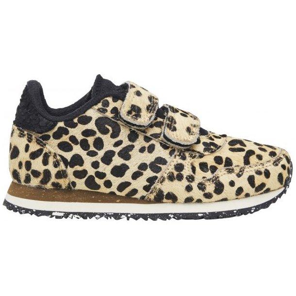 WODEN - Sneakers i leopard. Ydun pony