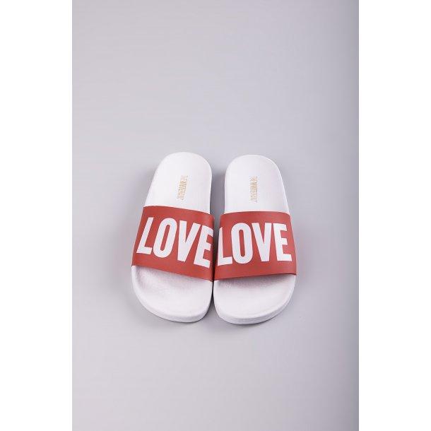 THE WHITE BRAND - Badesandal Love