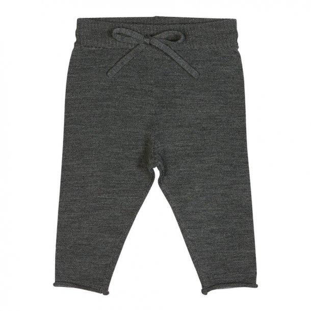 FUB - Bukser i mørkegrå fin uld