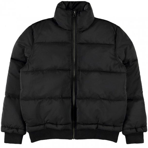 LIMITED - Bomber vinter jakke i sort