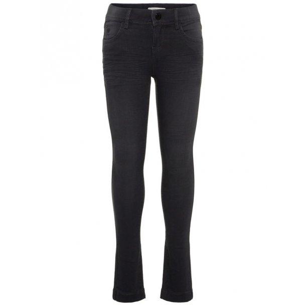 NAME IT - Jeans i sort. Skinny. Pige. 13156647..