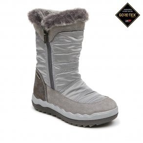 f8a928494b81 PRIMIGI - TEX støvle i grå-sølv med lynlås