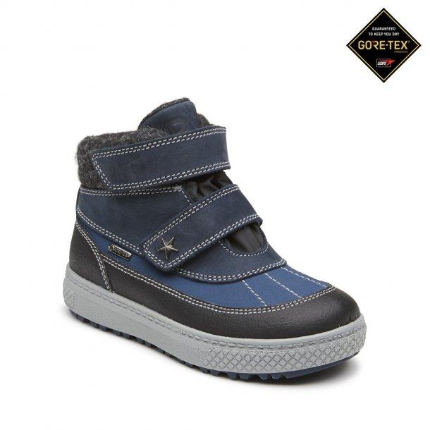 PRIMIGI - TEX støvle i blå-sorte farver