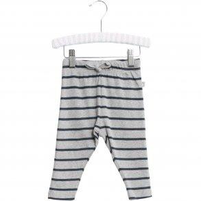 best service c23fa 268e3 WHEAT - Baby bukser i blå grå stribet. Nicklas
