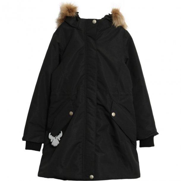 WHEAT - Vinterfrakke i sort. Nina