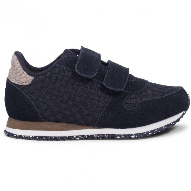 WODEN - Sneakers i sort flet. Ydun