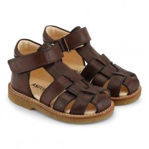 fd6631ca886e ANGULUS - Begynder sandal i angulusbrun