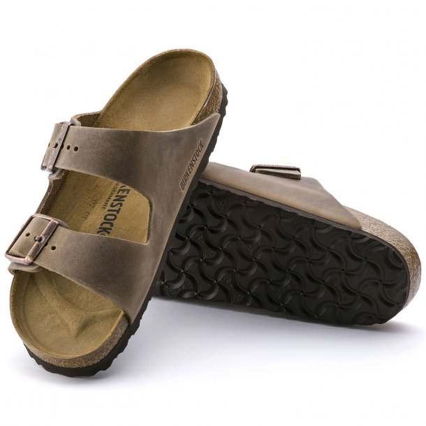BIRKENSTOCK - Arizona i tabacco brown(normal bredde)