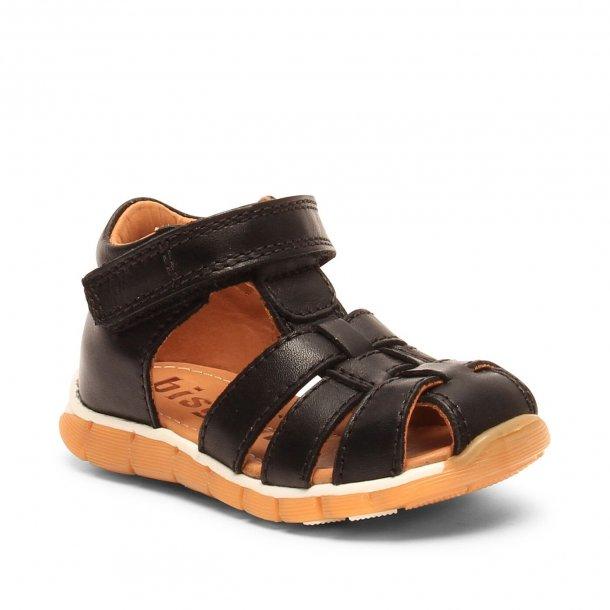 4adaf30605e BISGAARD - Sandal lukket model i sort - Sandaler - Karl & Kalinka