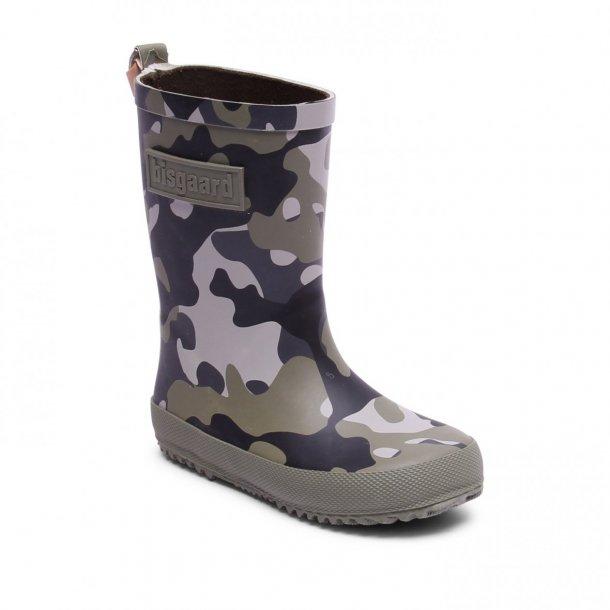 BISGAARD - Gummistøvle i camouflage