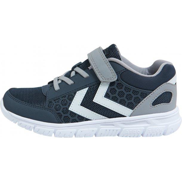 HUMMEL - Sneakers Crosslite  i black iris  med grå vinkler