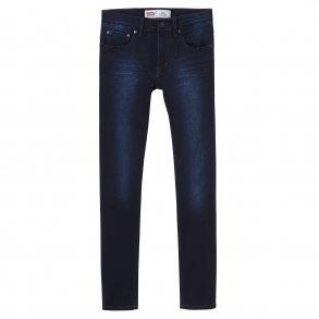 f69e5437 LEVIS - Jeans i mørk denim. Model 512 Dreng.