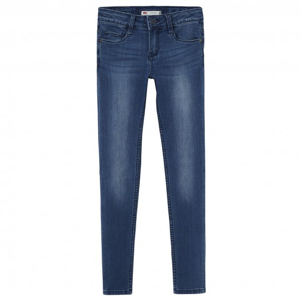 LEVIS - Jeans i blå vask Pige. Model 711