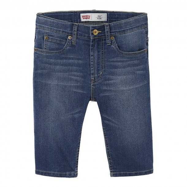 LEVIS - Shorts i blå vask. Model 511. Dreng..