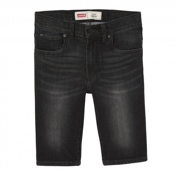 LEVIS - Shorts i sort vask. Model 510. Dreng