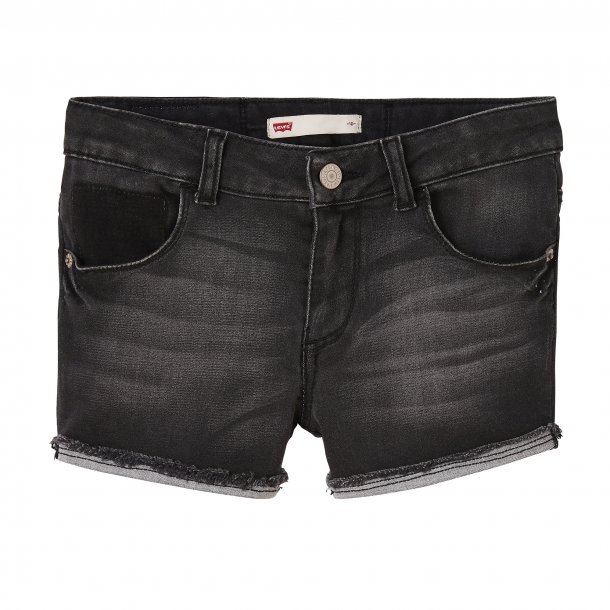 LEVIS - Shorts i sort vask. Pige. Moon