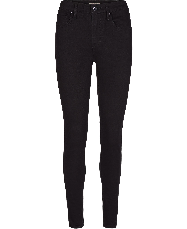 fcc1ee3b LEVIS - Jeans i sort vask Pige. Model 721 High rise skinny - Bukser - Karl  & Kalinka