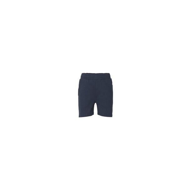 MADS NØRGAARD - Sweat-shorts i navy. Porsulano..