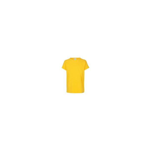 MADS NØRGAARD - T-Shirt i gul. Tuvina