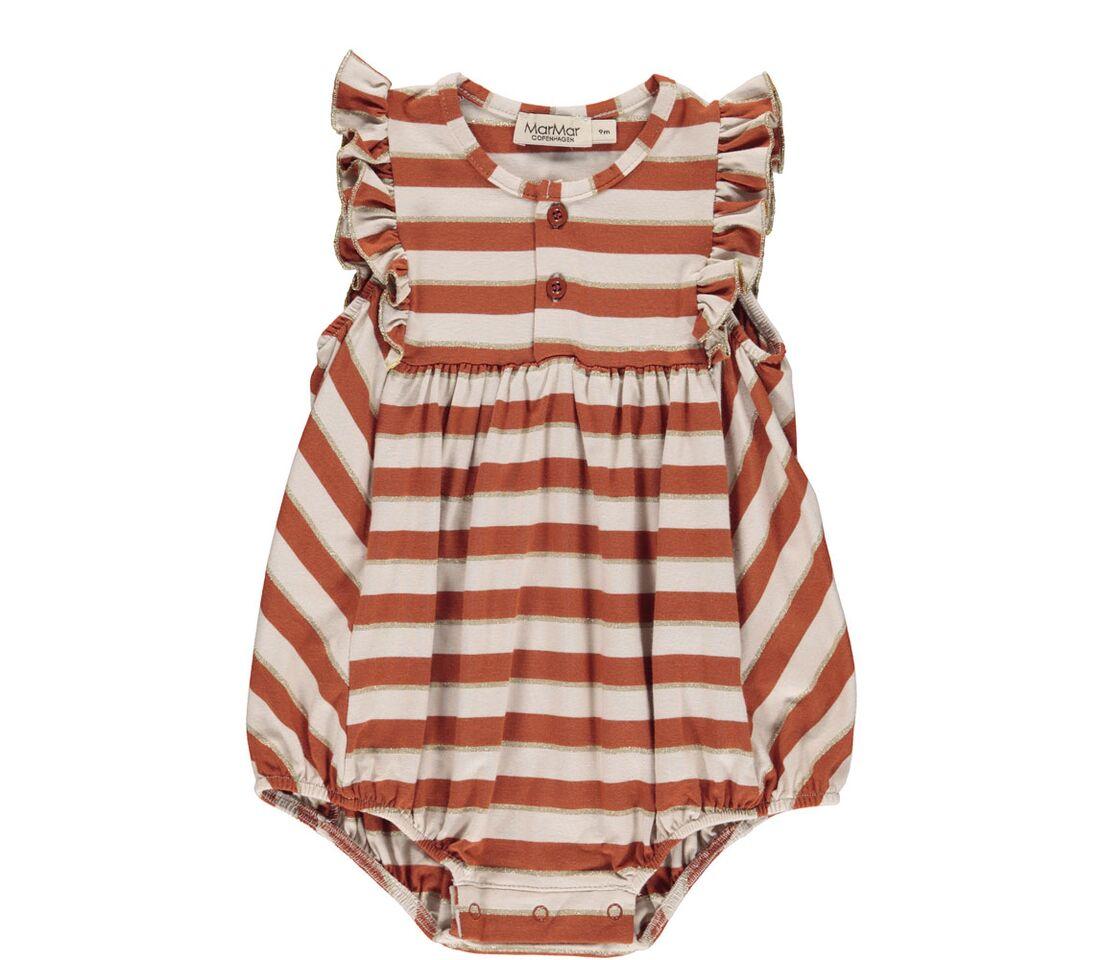 dcda5f55c03e MAR MAR - Baby romber med røde striber. Rommy Frill - Kjoler og nederdele -  Karl   Kalinka