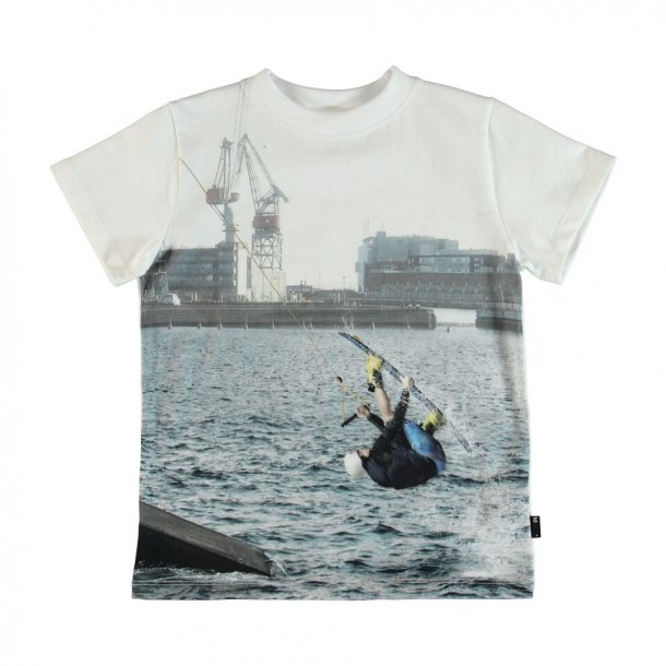 MOLO - T-shirt med print cable park. Road..
