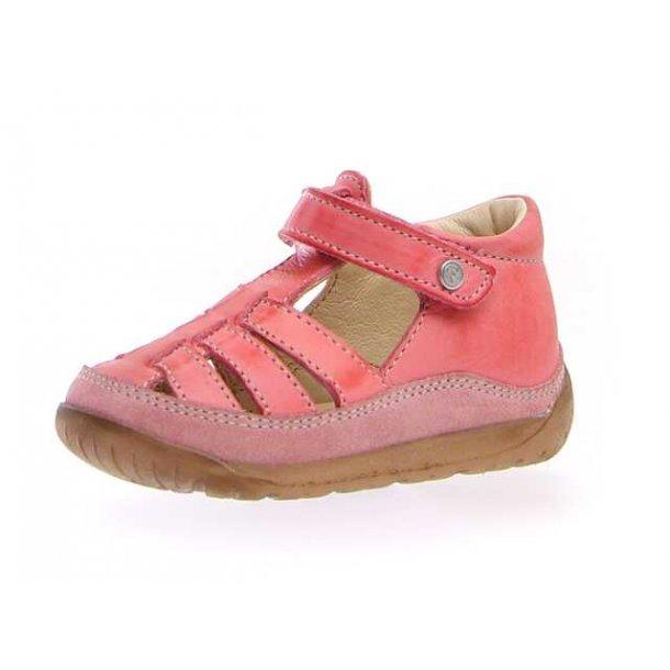 NATURINO - Begynder sandal i pink skind..