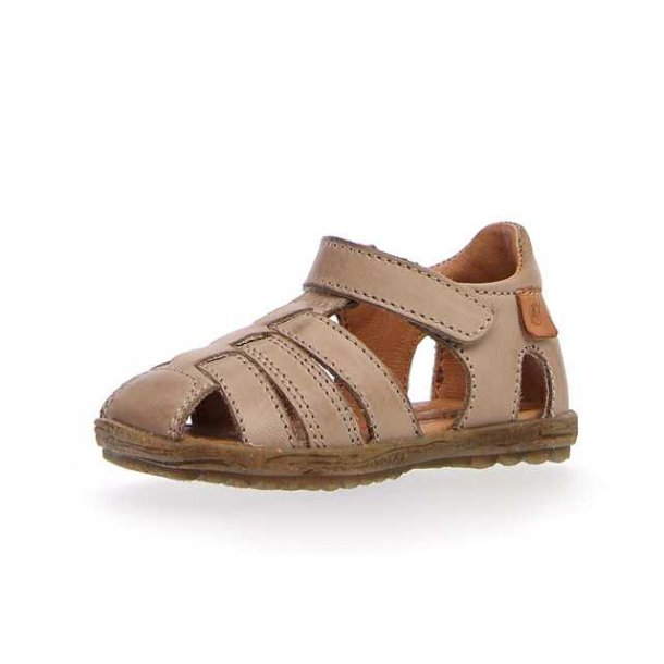 NATURINO - Sandal lukket i sandfarvet