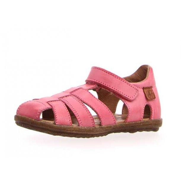 NATURINO - Sandal lukket i pink..