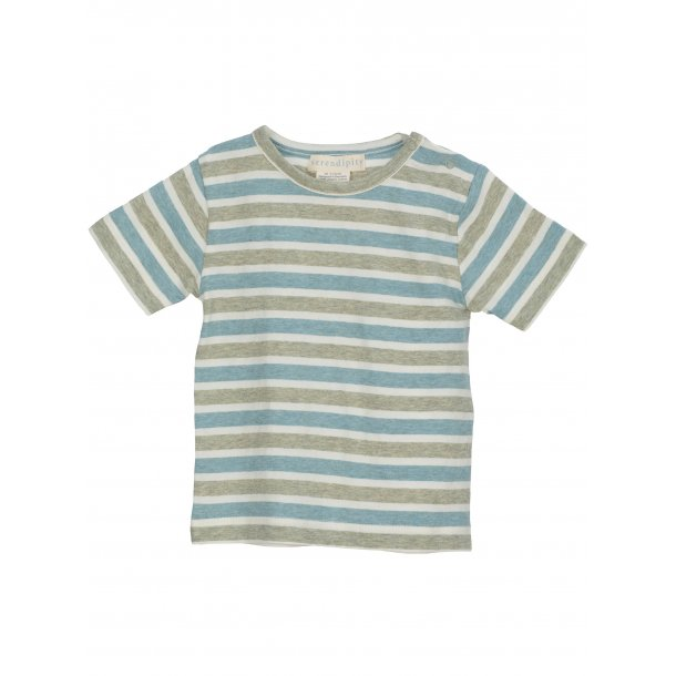 SERENDIPITY - T-Shirt i stribet..