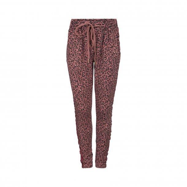 SOFIE SCHNOOR - Bløde bukser i pink leo